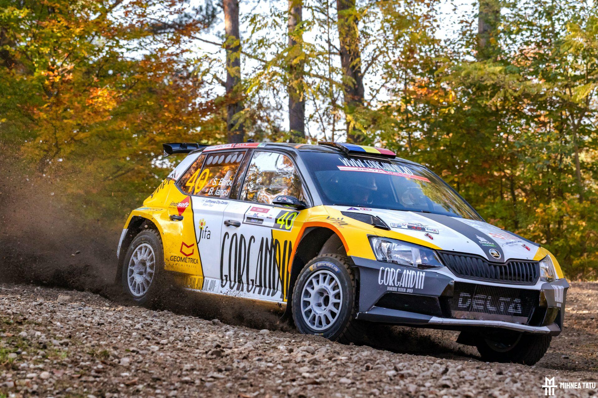 Final de sezon cu o clasare pe podium la Tess Rally pentru Sebastian Barbu si Bogdan Iancu