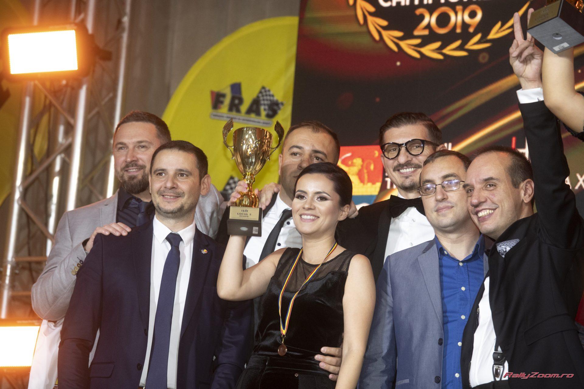 Echipajele DTO Rally Team au fost premiate la Gala Campionilor 2019