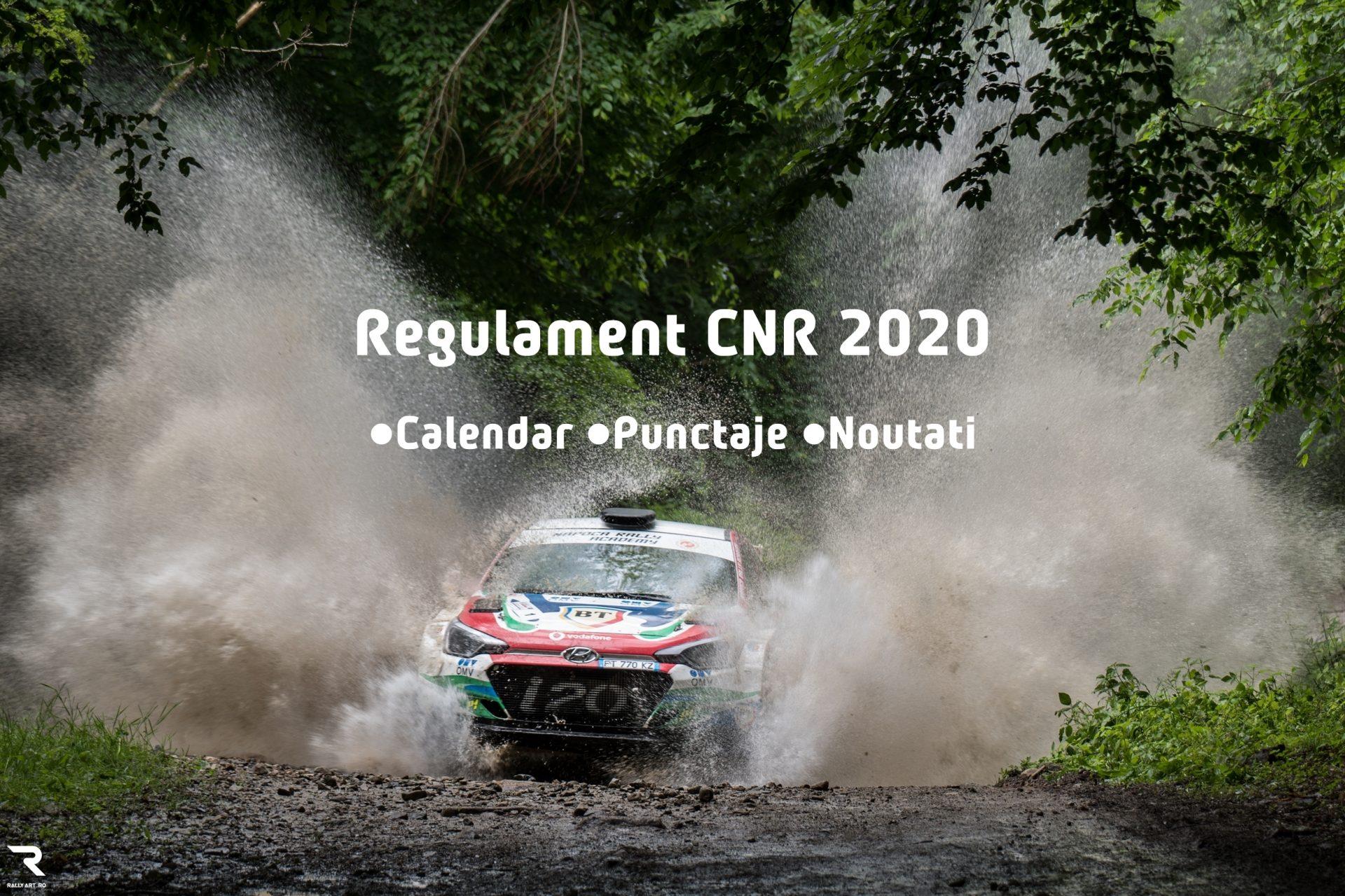 Schimbari de regulament in 2020 in Campionatul National de Raliuri