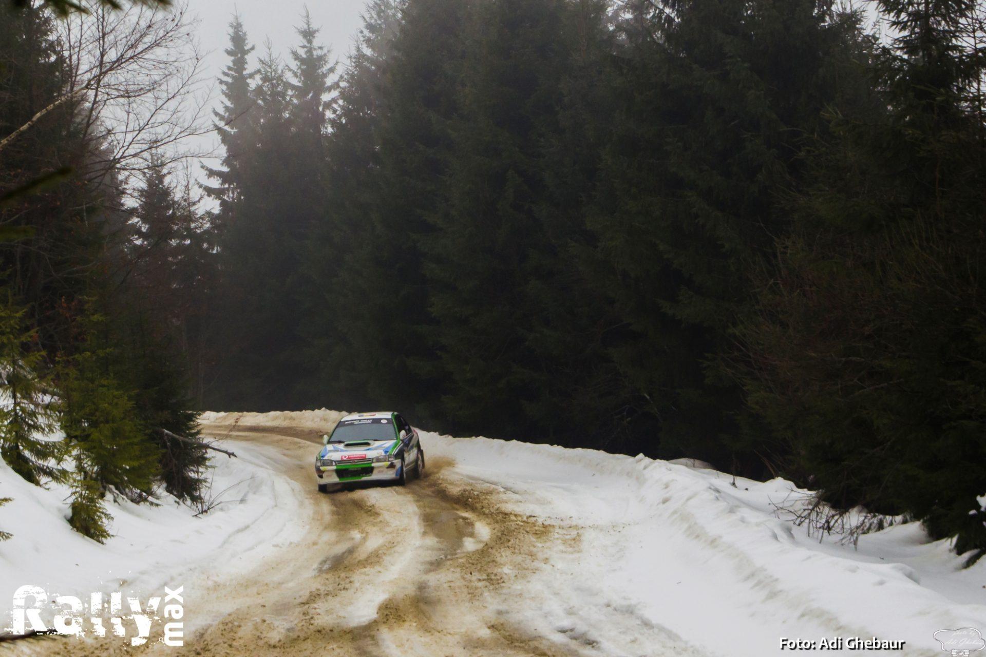 Victorie pentru Simone Tempestini in Winter Rally Covasna 2020