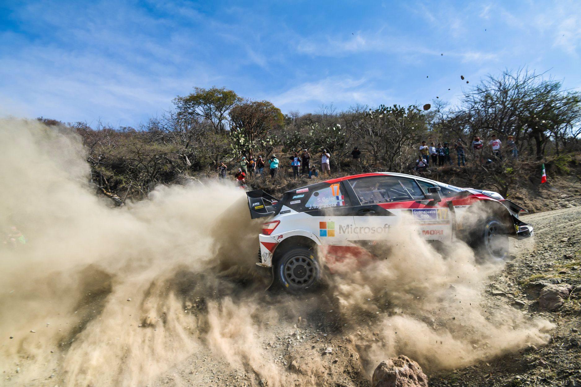 Sebastien Ogier castiga un Rally Mexico scurtat
