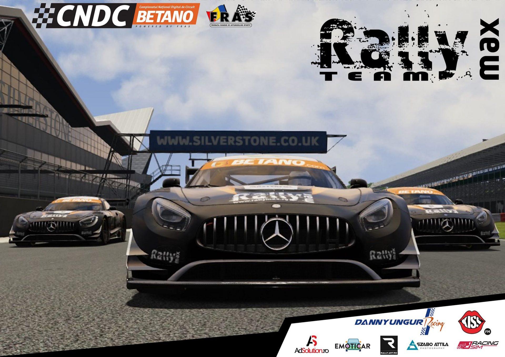 Echipa RallyMax concureaza in Campionatul National Digital pe Circuit 2020