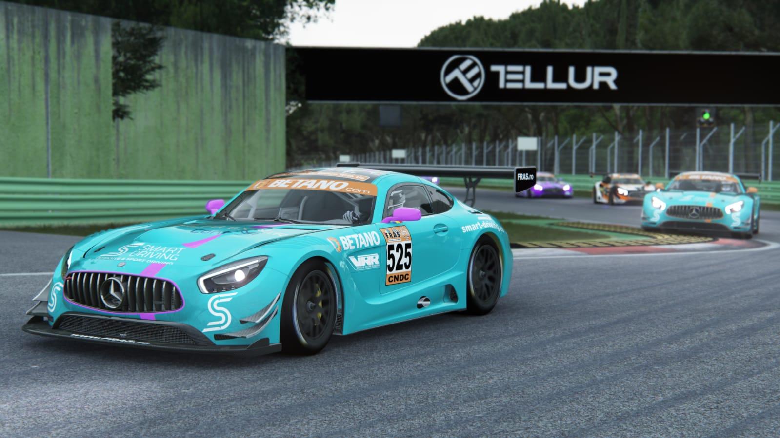 Pas important catre titlul echipelor pentru Virtual Racing Romania la Imola