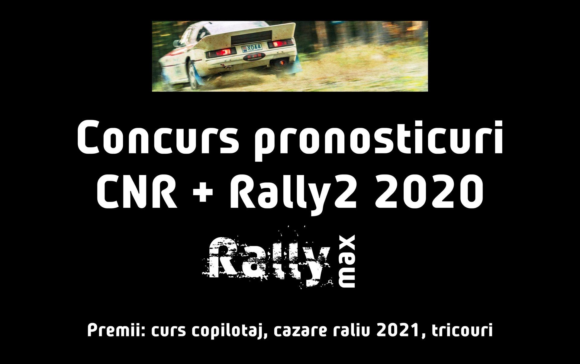 Campionatul de Pronosticuri CNR & Rally2 continuă în 2020!