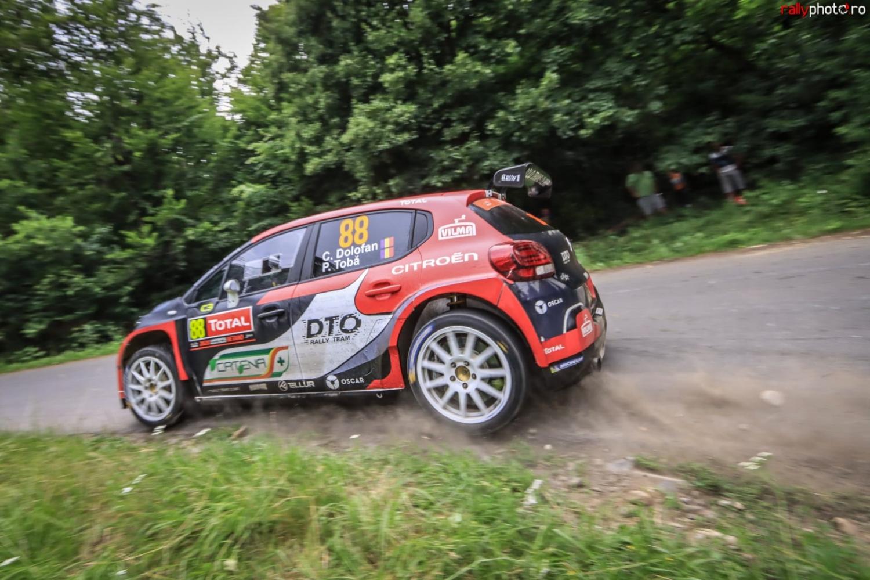 Cursă dificilă în Brașov și Harghita pentru DTO Rally Team