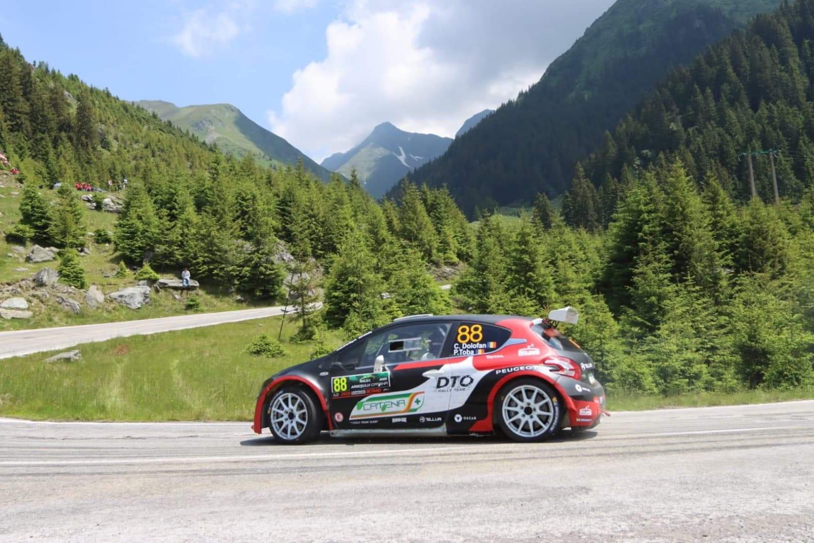 Spectacol pe Transfăgărășan pentru DTO Rally Team