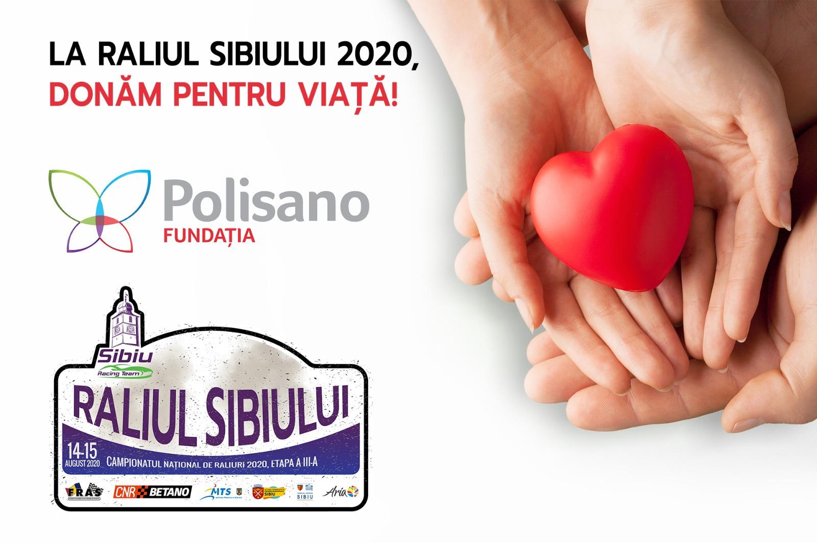 La Raliul Sibiului 2020, donăm pentru viață!