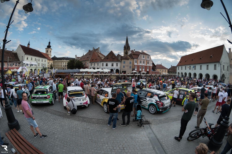 Prezențe surpriză la Raliul Sibiului 2020