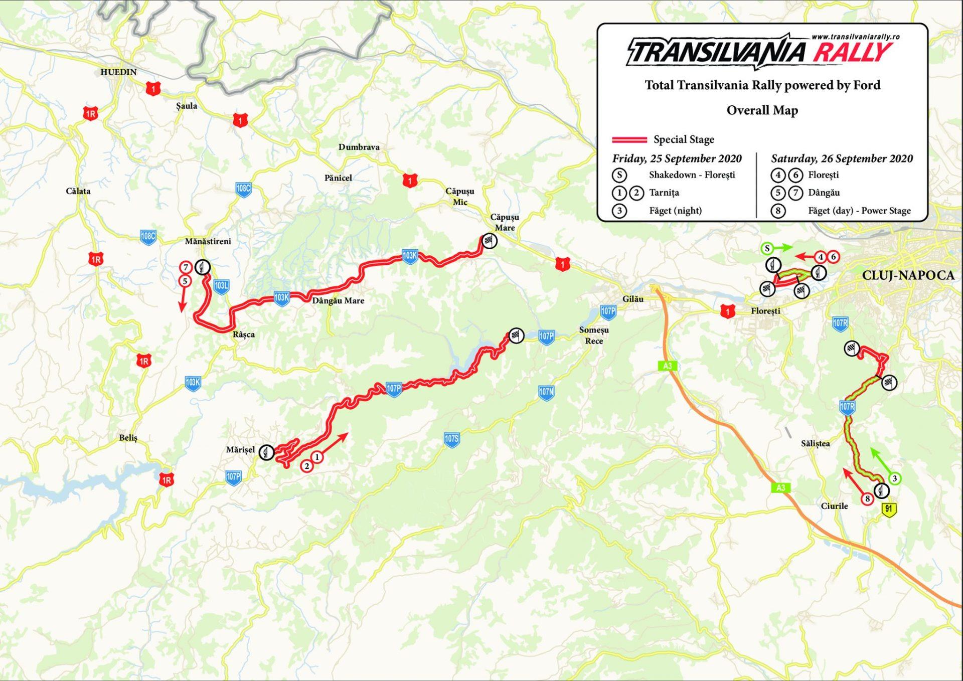Propunere program Transilvania Rally 2020