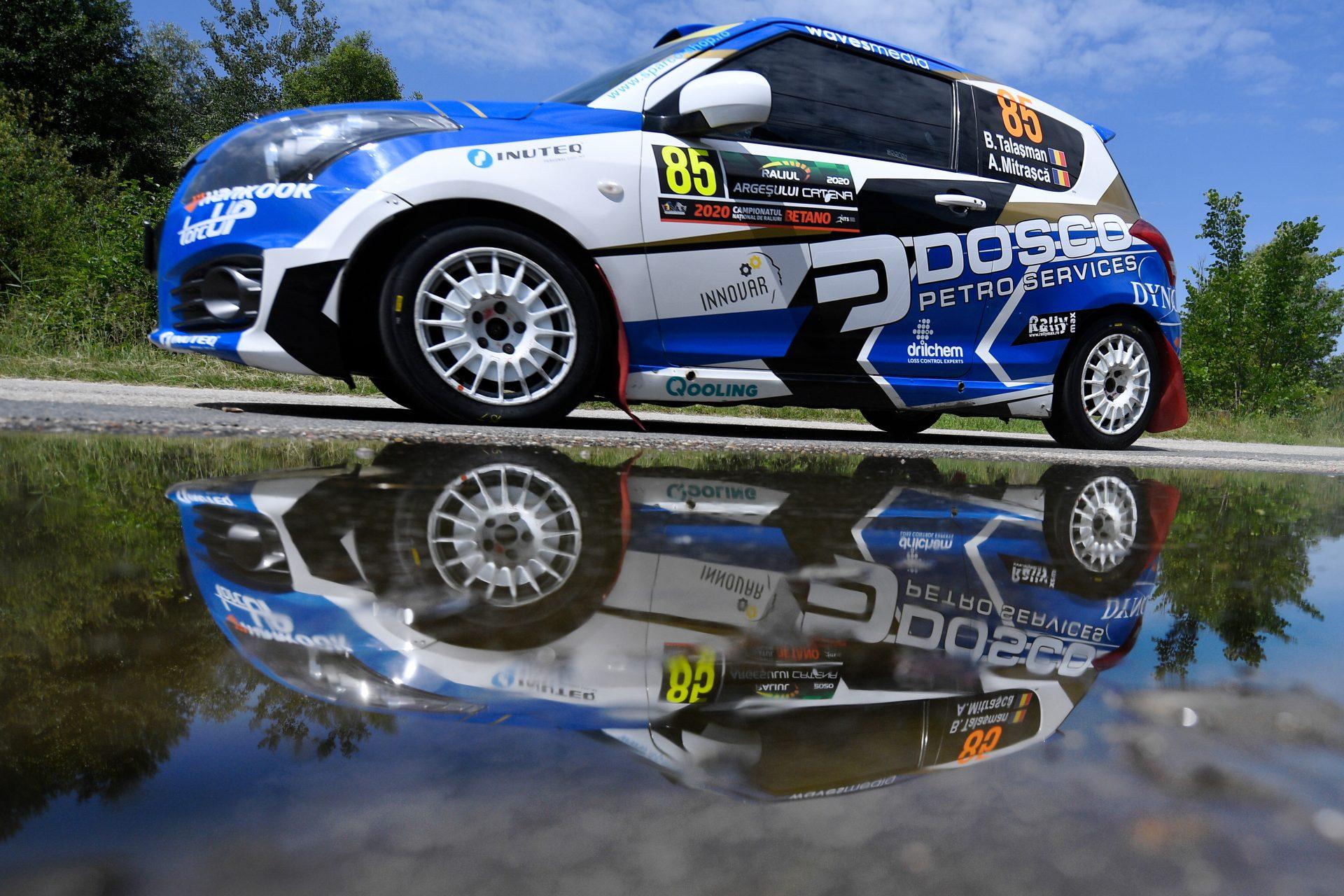Transilvania Rally, ultimul duel pe asfalt din Swift Cup 2020