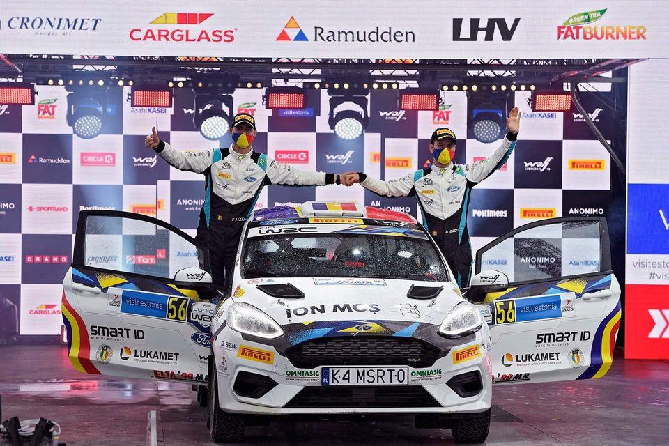 Ott Tanak câștigă Rally Estonia; Raul Badiu pe 8 în JWRC