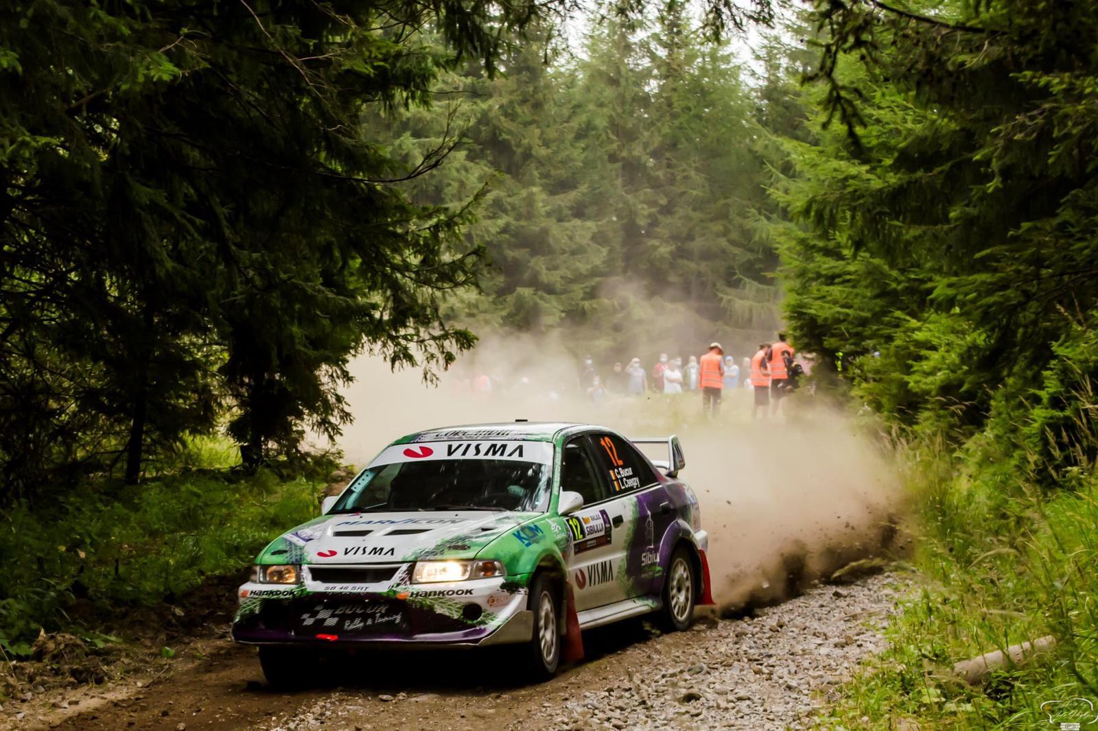 Călin Bucur și Levente Csegzy, împreună cu Sibiu Racing Team la Bacău