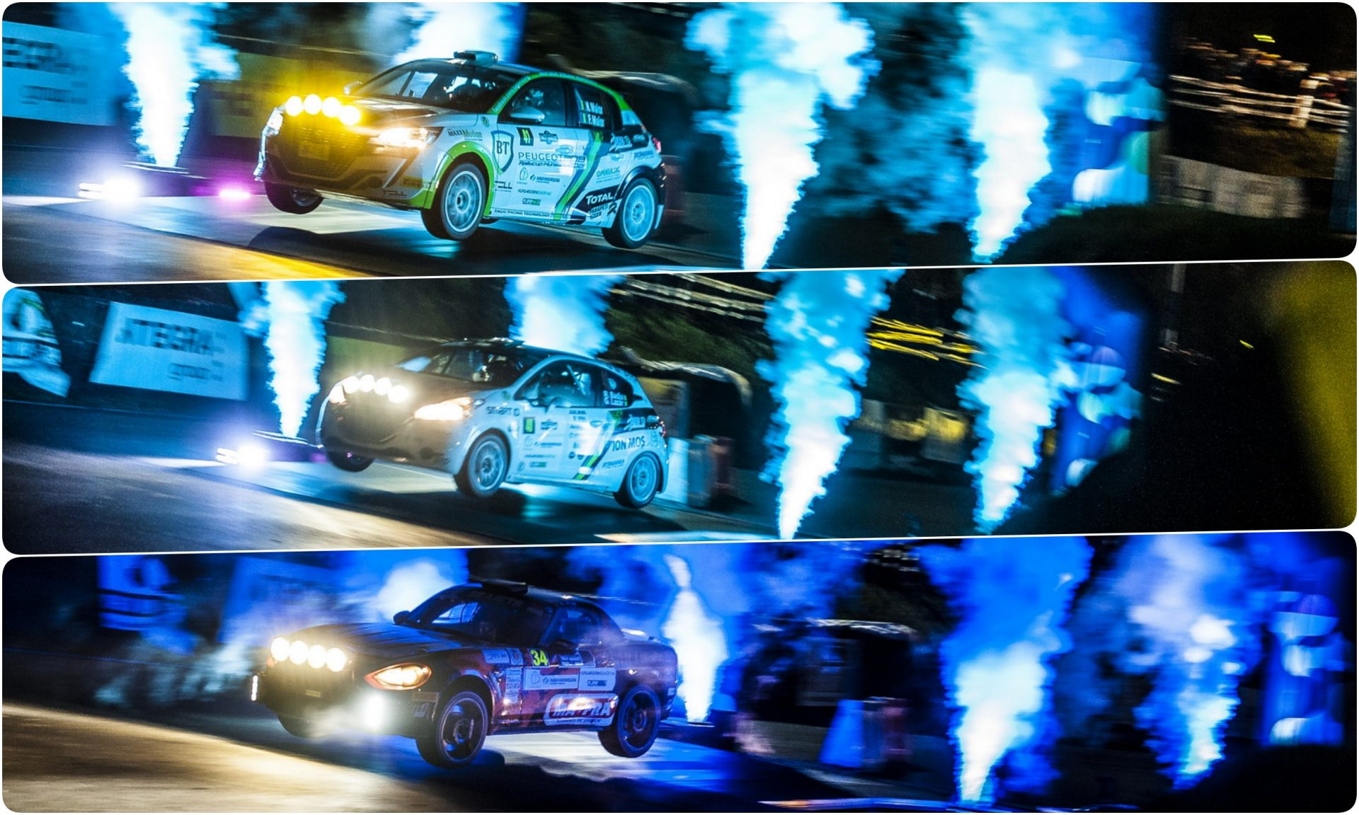 Rezultate bune și ritm promițător în Rally Hungary pentru echipajele române
