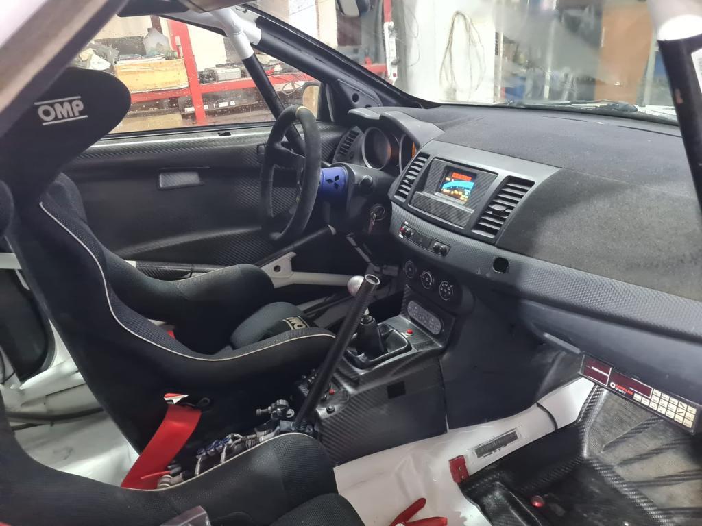 Adi Teslovan va evolua cu un Mitsubishi Lancer EVO X la clasa RC2N