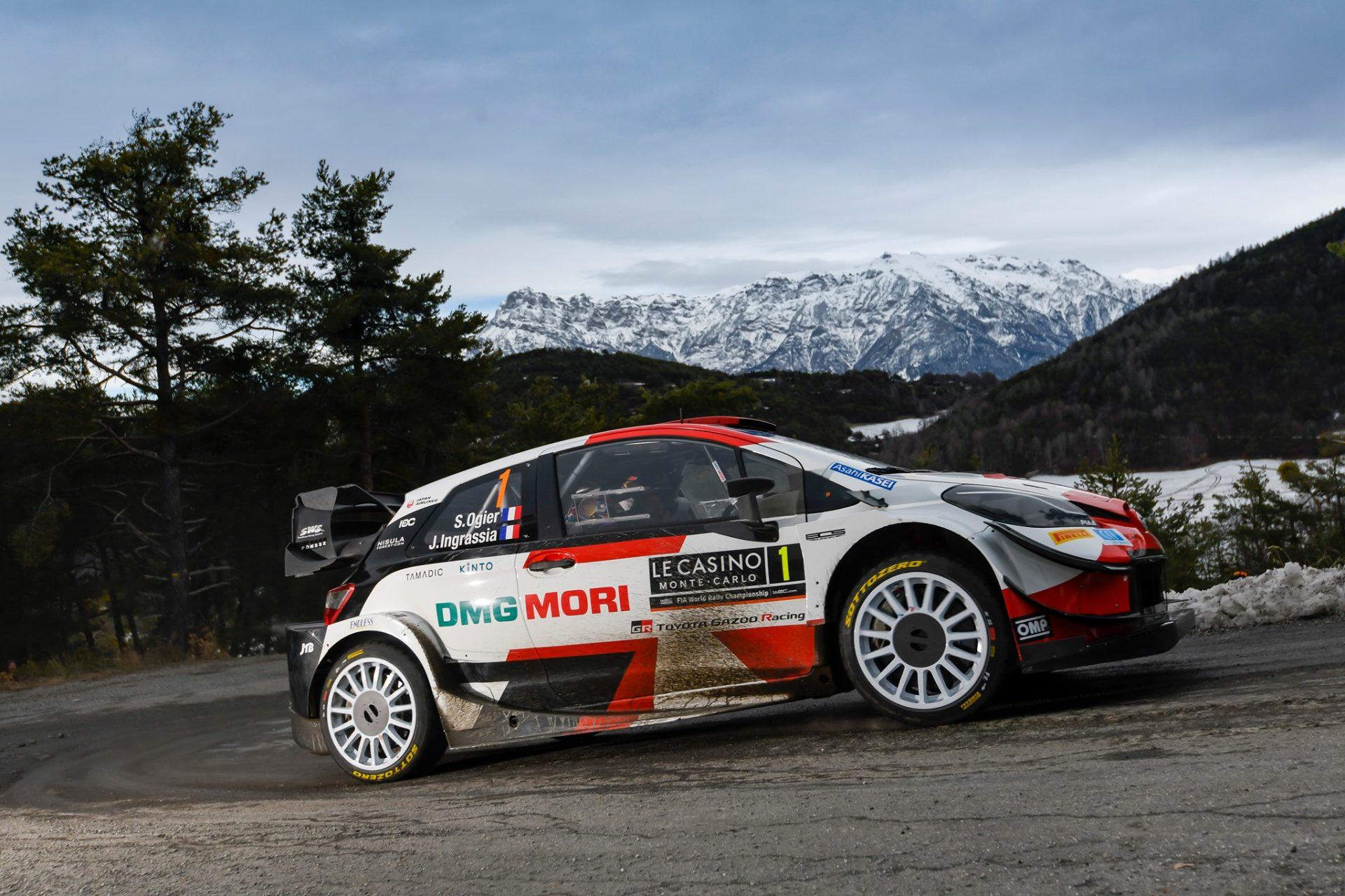 Debut perfect de sezon pentru Toyota la Rallye Monte-Carlo 2021