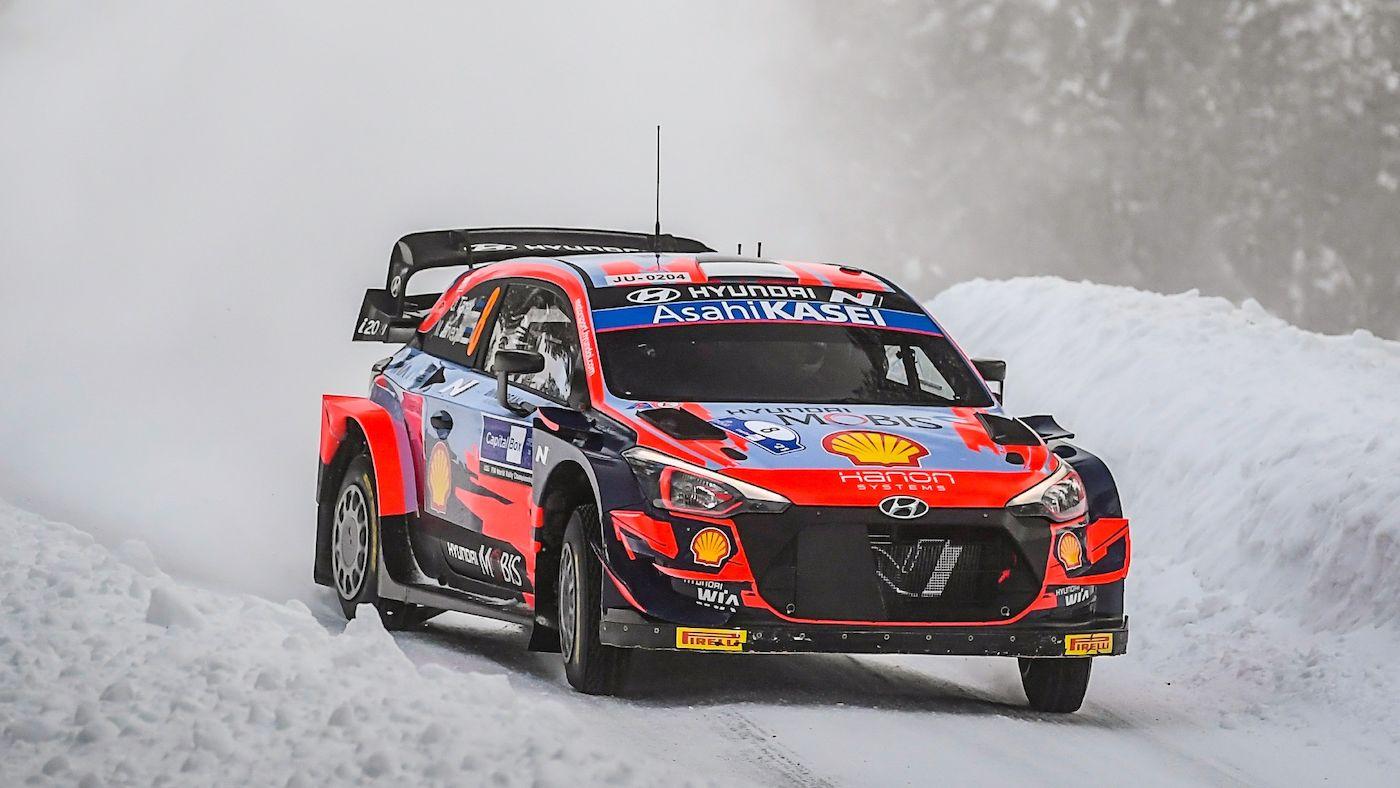 Ott Tanak este cel mai rapid în prima zi a Arctic Rally Finland