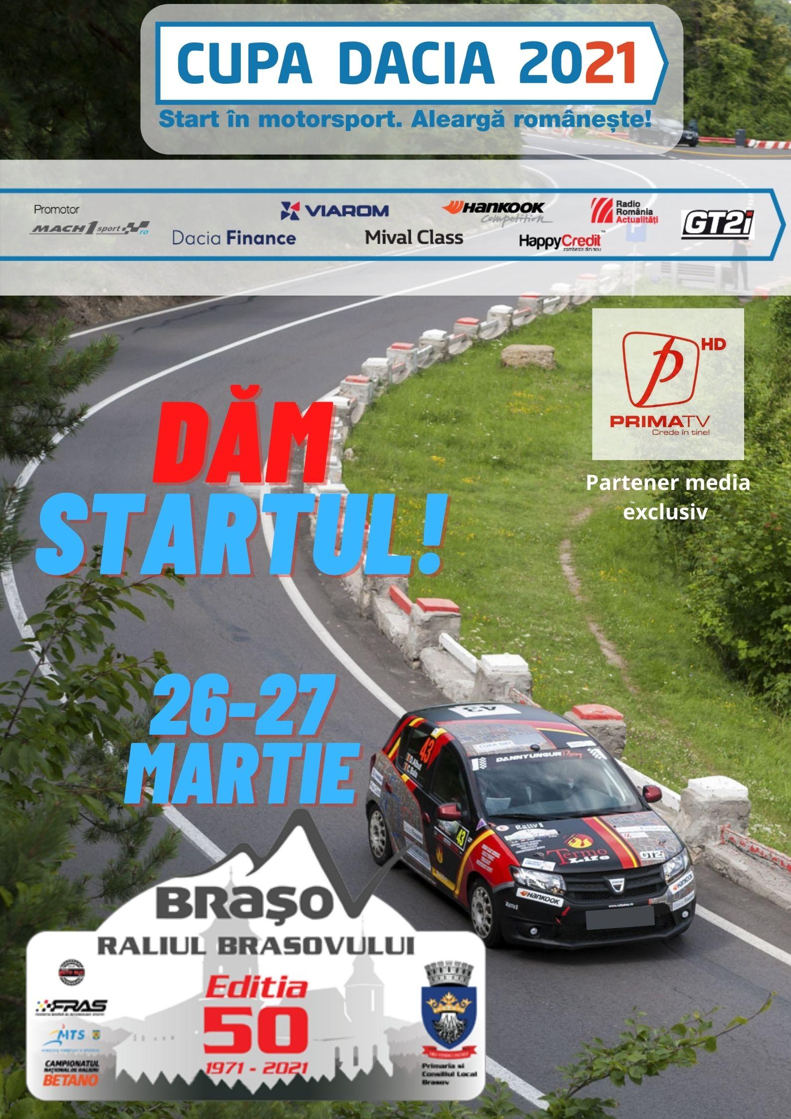 Comunicat de Presă Cupa Dacia 2021