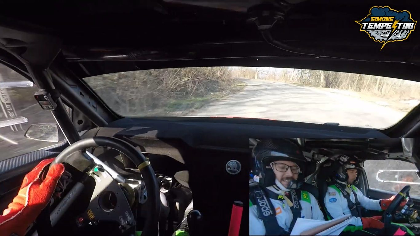 Onboard action la Tess Rally Braşov 2021