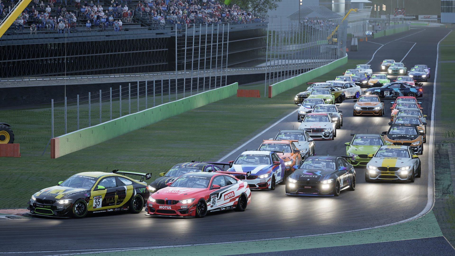 Racing League Romania BMW GT Challenge: Nimeni nu clipește în duelul tensionat de la Monza