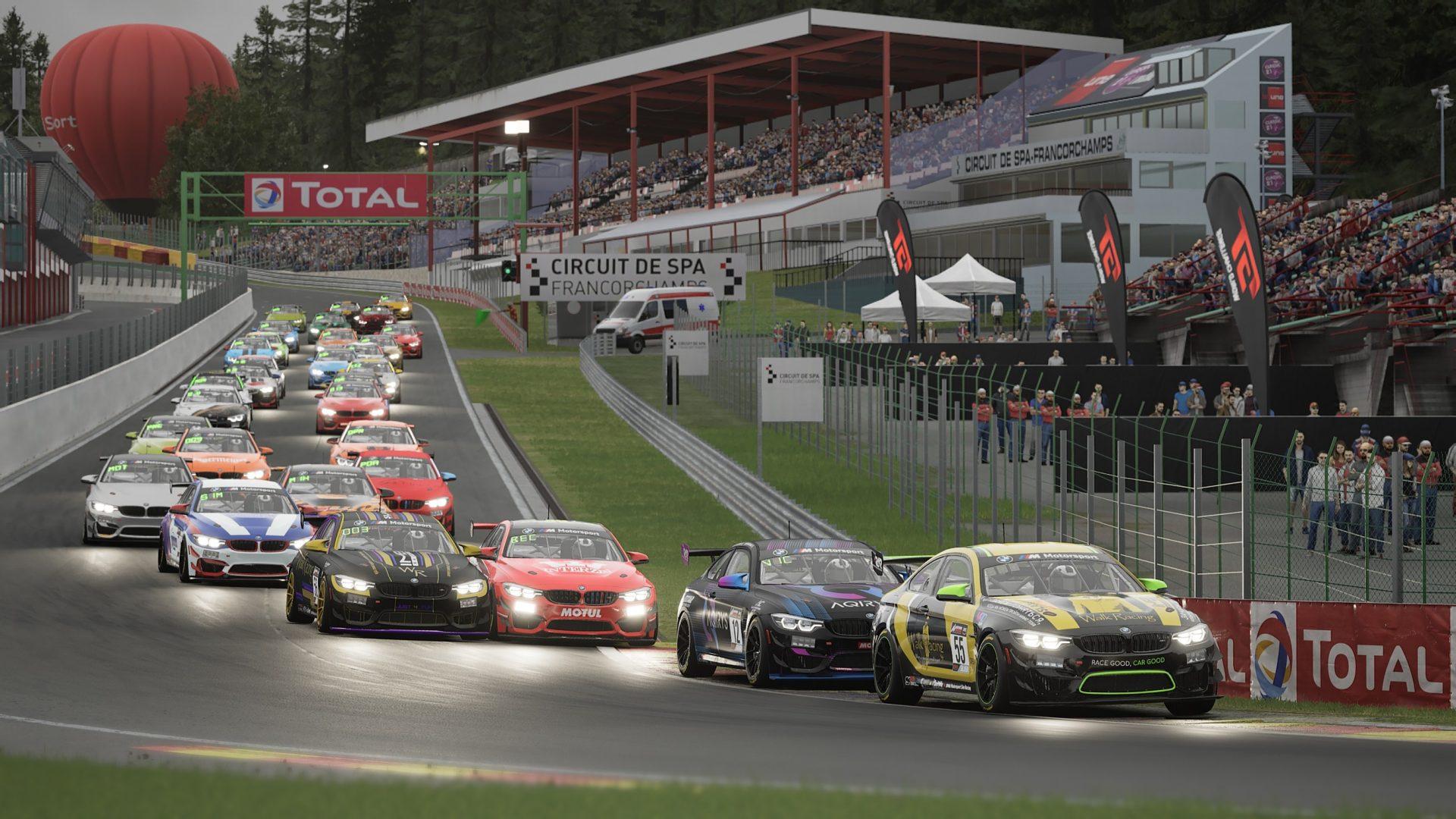 Racing League Romania BMW GT Challenge: Victorie incontestabilă pentru Aqirys Racing în Belgia
