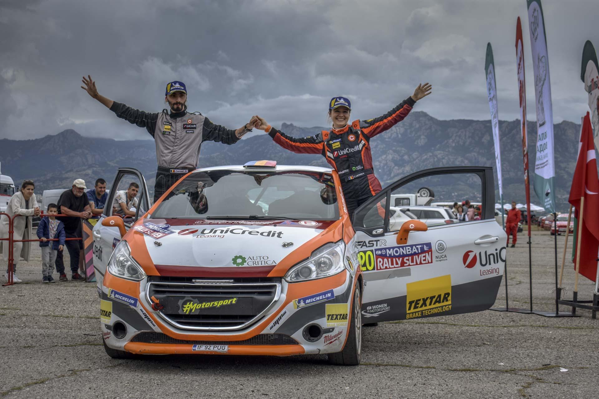 Început promițător în Trofeul Balcanic pentru echipajul Cristiana Oprea/Cornel Șocariciu, cu locul 5 ERT2 la Rally Sliven 2021