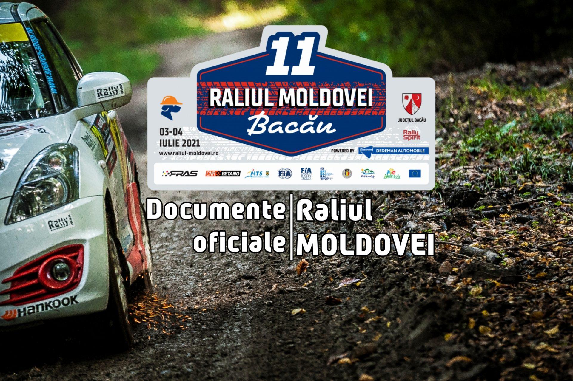Raliul Moldovei 2021 – Documente oficiale