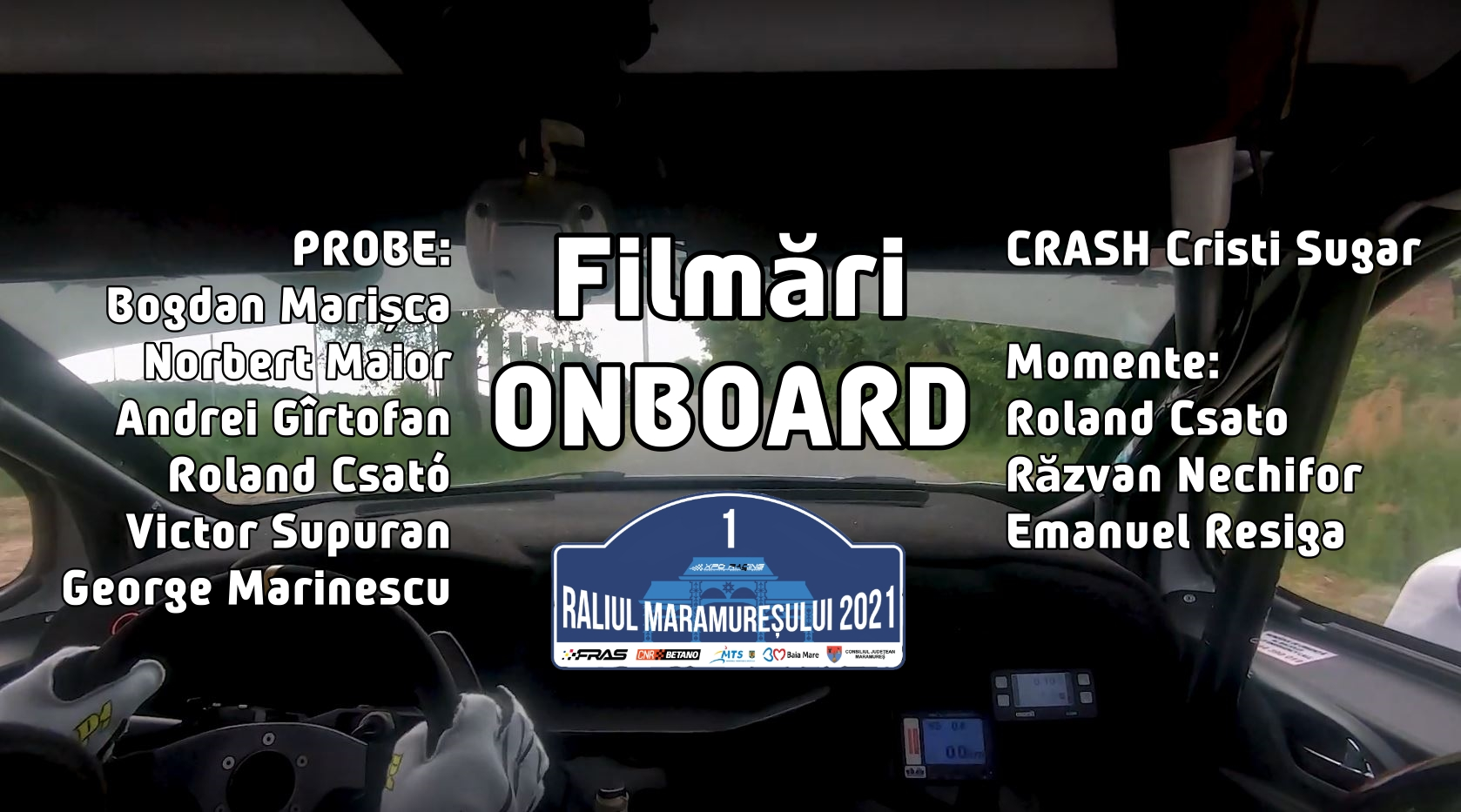 Raliul Maramureșului 2021 – Onboard Action