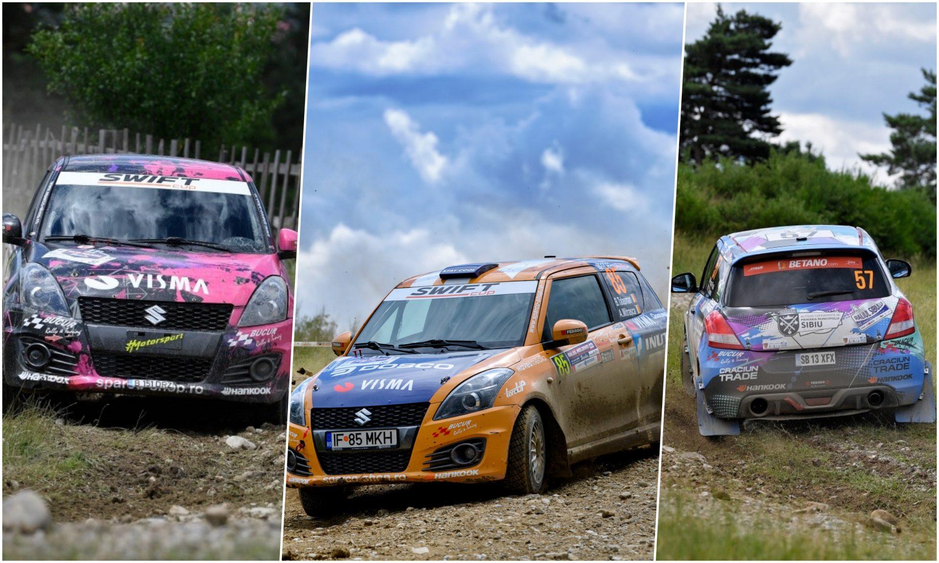 Swift Cup prezentă cu 10 echipaje pe probele legendare ale Raliului Sibiului