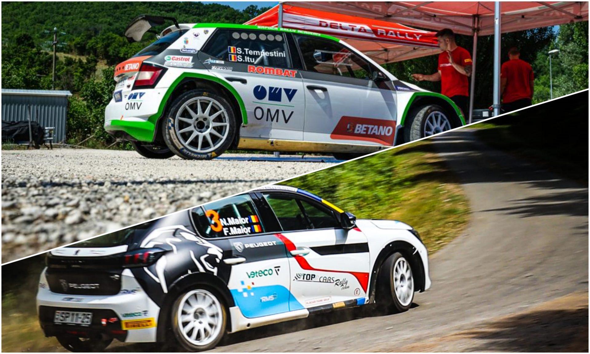 Napoca Rally Academy își continuă campania în Campionatul European de Raliuri