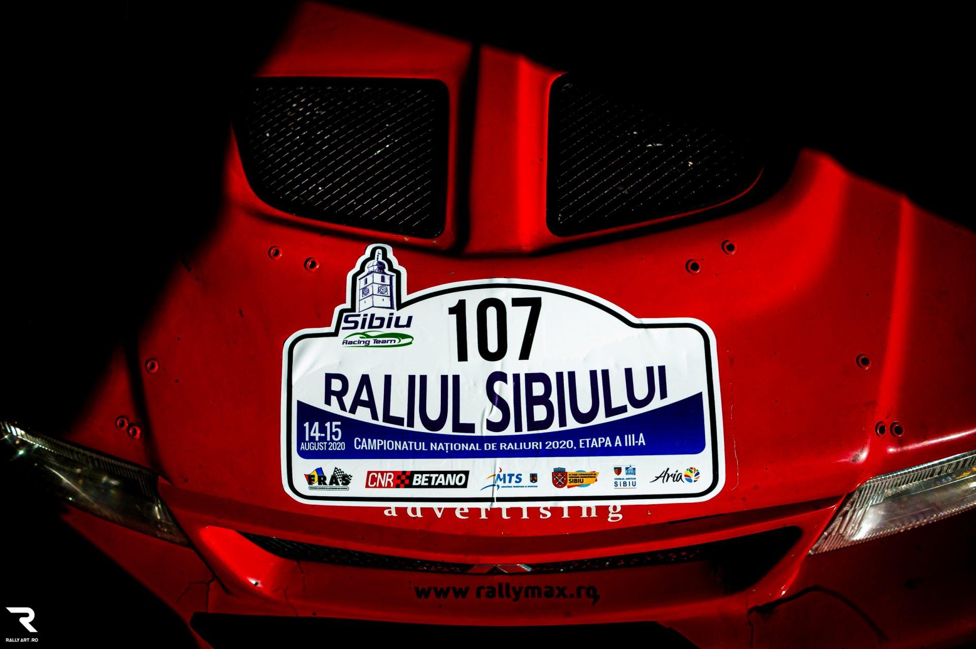 68 echipaje la startul Raliului Sibiului 2021