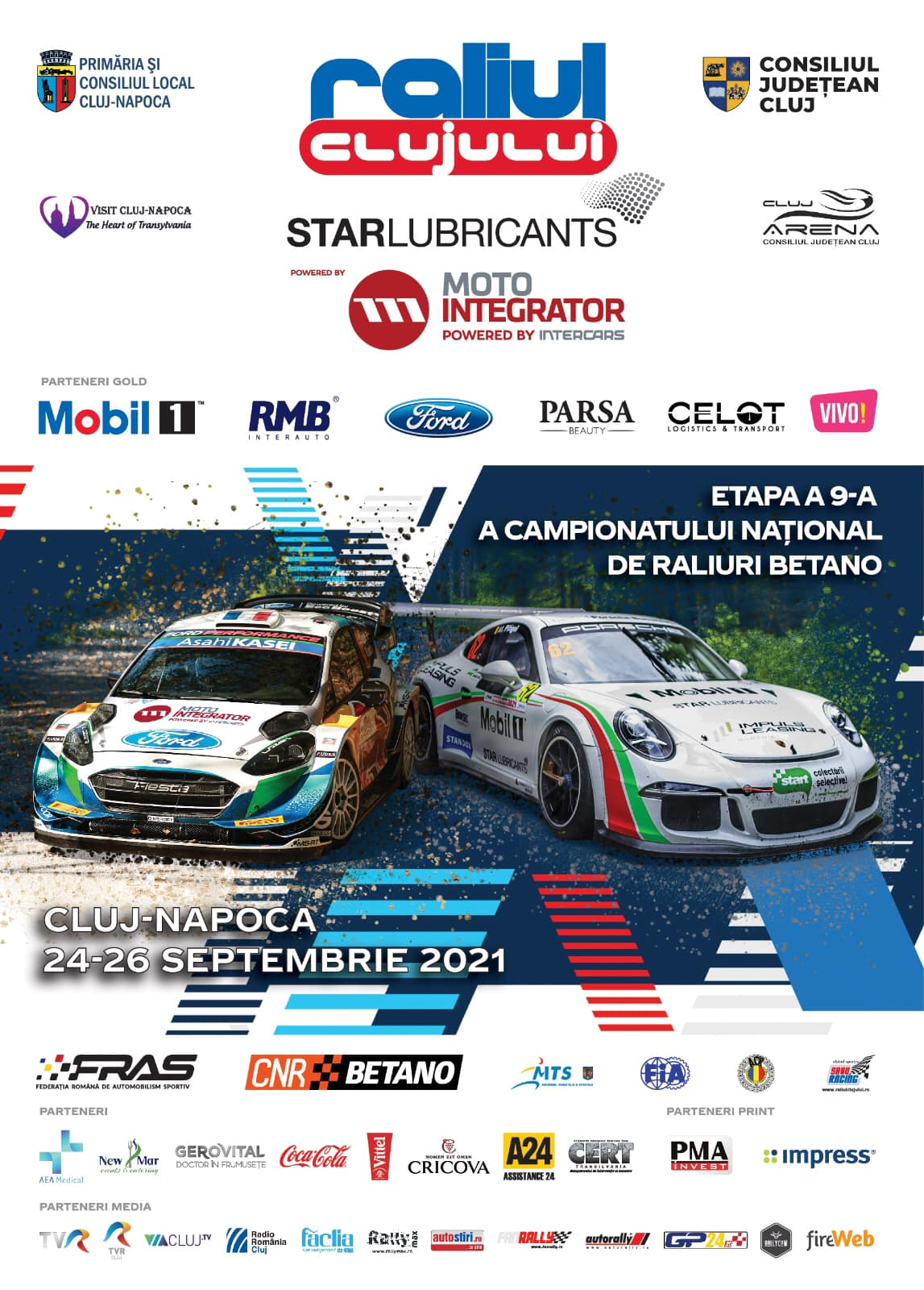 Raliului Clujului Star Lubricants powered by MotoIntegrator a intrat în linie dreaptă cu pregătirile